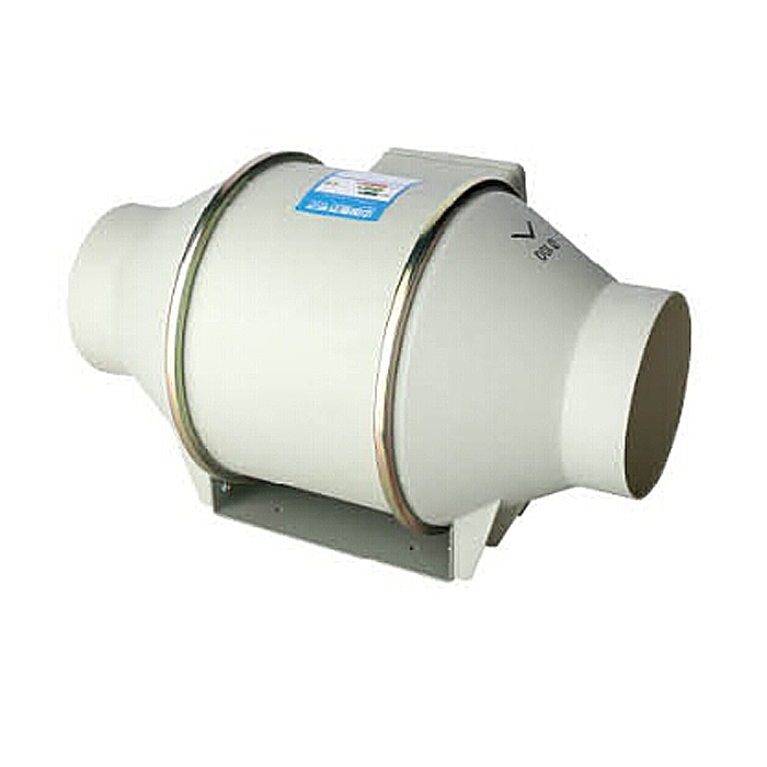 100MM Plastic Ventilation Booster Rotating Duct Fan