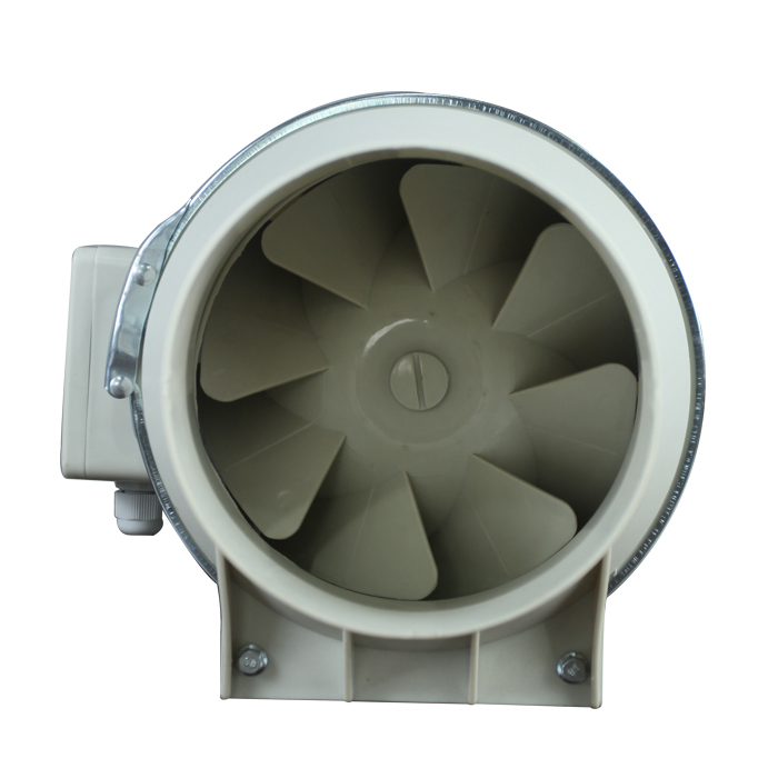 125MM Inline Duct Fan Mixed Diagonal Flow Booster