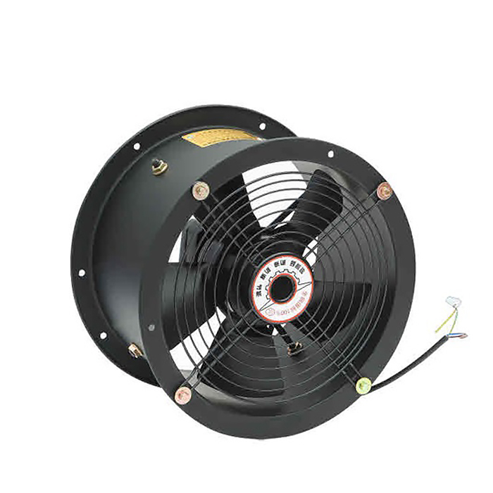 250MM Customizable AC Rotor Axial Long Tube Fan