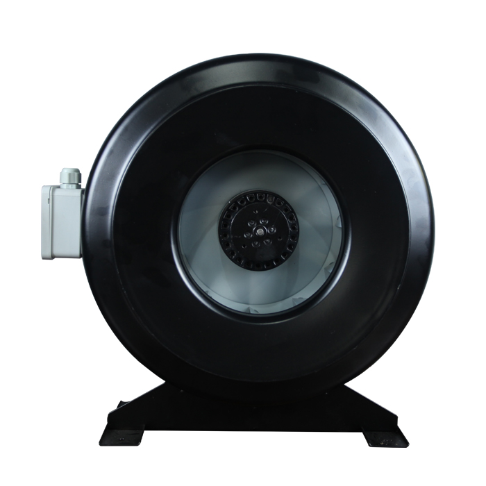 250MM CDR Circular Pipe Inline Centrifugal Fan