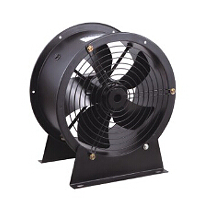 Does the plant grid interfere with industrial fans?