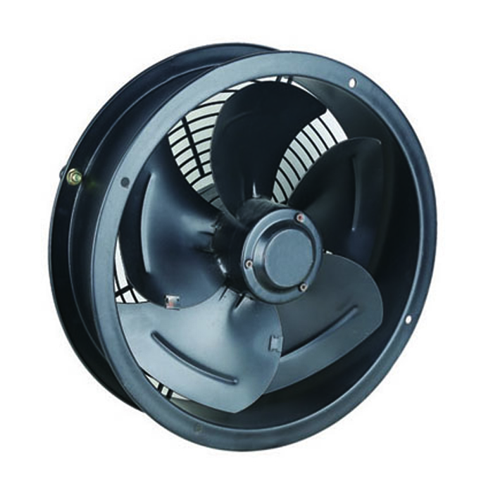 350MM Compact Single Phase Cased Axial Fans