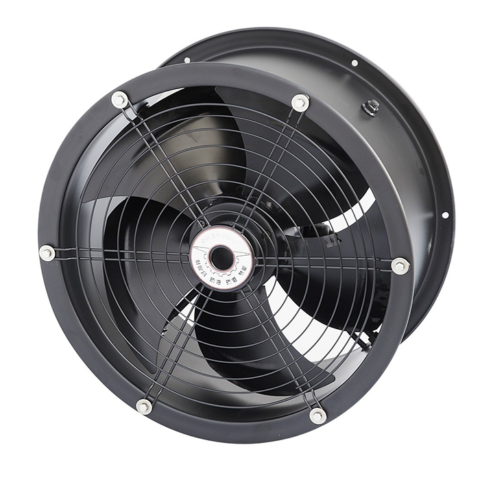 350MM Strong Industrial Long Tube Exhaust Fan