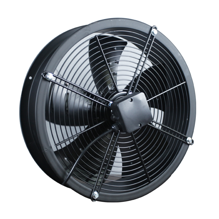 400MM Short Industrial Co-axial Fan