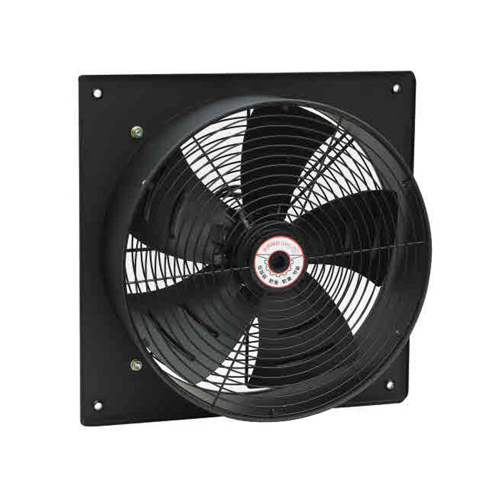400MM Square Steel Electrical Axial Wall Fan