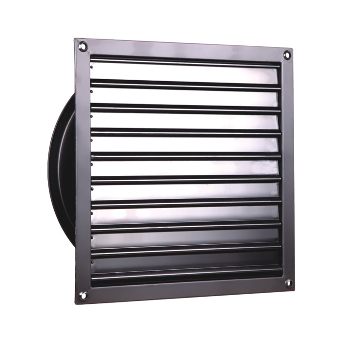 450MM Light Tight Louver Fans Shutter Axial Fan