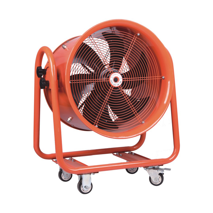 600MM Moveable Axial Ventilator Duct Flow Fan Blower