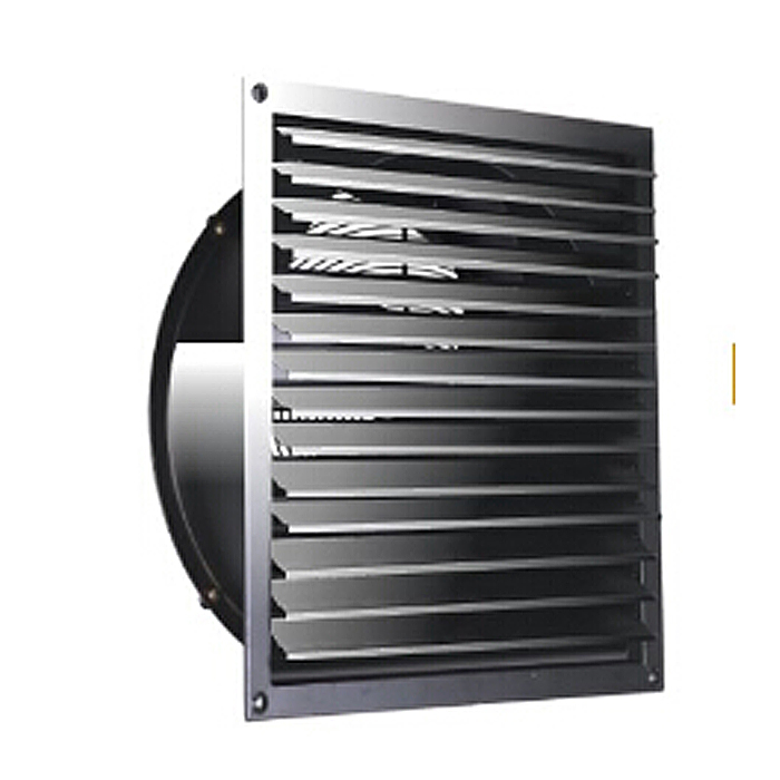 600MM Square Window Louver Exhaust Axial Fan
